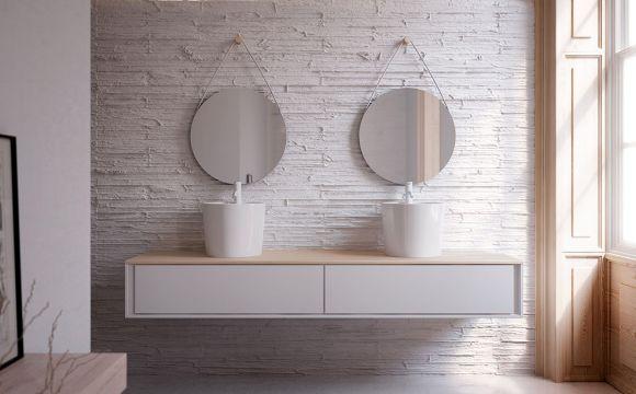 florencia b napultni umivalnik 420 x 350 mm. Black Bedroom Furniture Sets. Home Design Ideas
